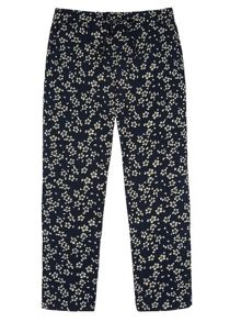 Yumi Girls Girls Ditsy Floral Print Trousers