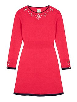 Girls Embellished Jumper Dress