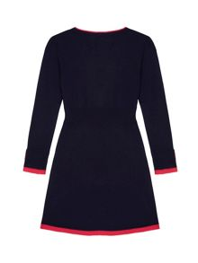 Yumi Girls Girls Embellished Jumper Dress