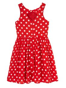 Girls Polka Dot Day Dress