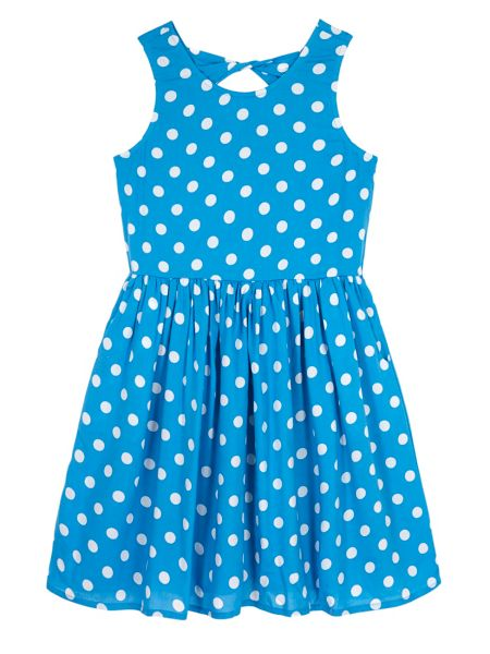 Yumi Girls Girls Polka Dot Day Dress