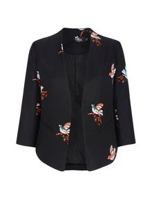 Mela Loves London Bird Print Jacket