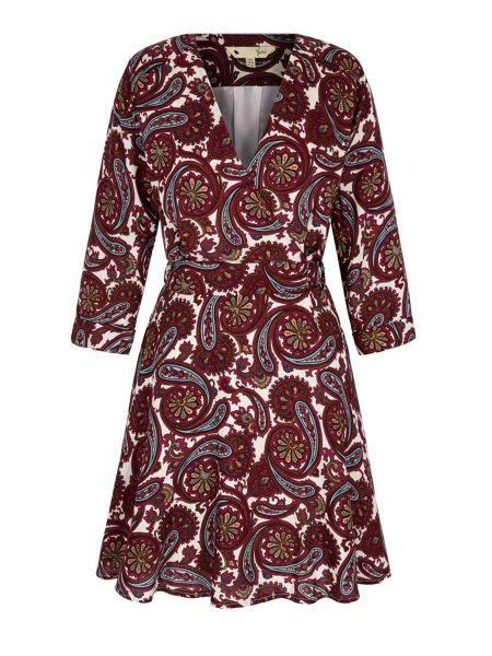 Yumi Arrow Print Wrap Dress