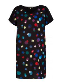 Uttam Boutique Bokeh Print Tunic Dress