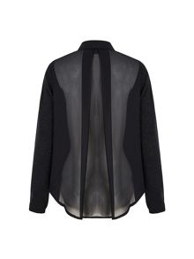 Yumi Sheer Back Jacket
