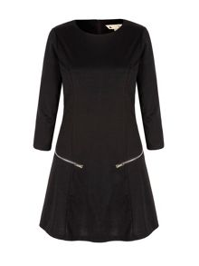 Yumi Long Sleeve Tunic Dress