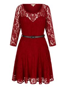 Yumi Lace Sweetheart Party Dress