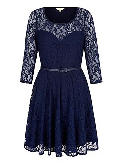 Lace Sweetheart Party Dress