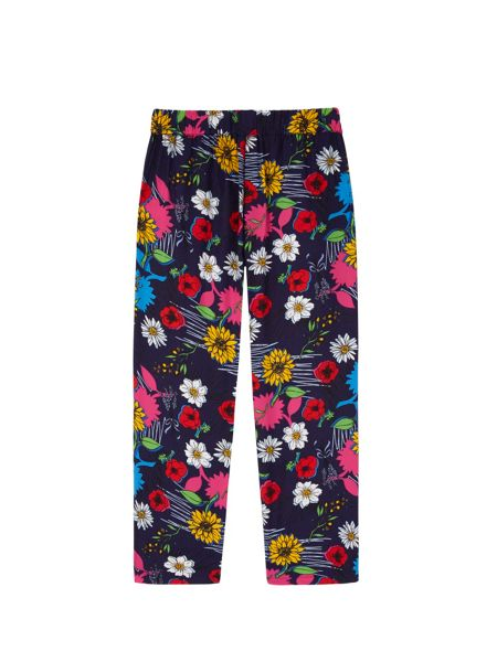 Yumi Girls Girls Floral Print Trousers