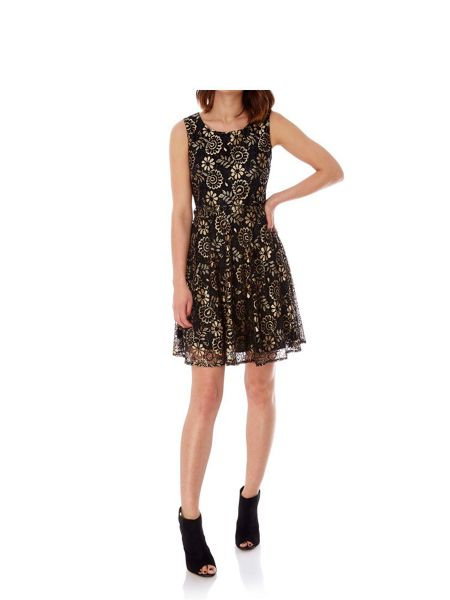 Mela London Lace Prom Dress