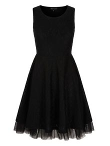 Mela Loves London Lace Tulle Prom Dress