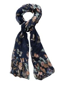 Yumi Butterfly Print Scarf