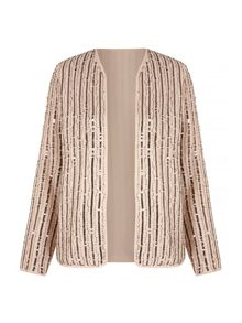 Mela Loves London Sequin Embellished Jacket