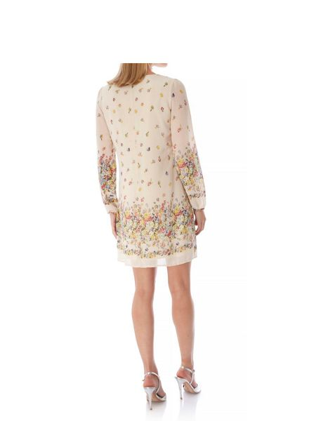 Yumi Floral Cascade Print Tunic Dress