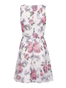 Mela London Rose Print Day Dress