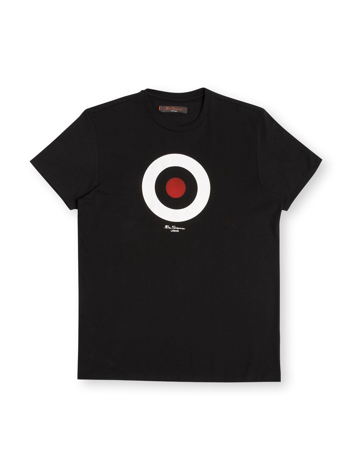 Mens Ben Sherman Crew neck t-shirt, Black