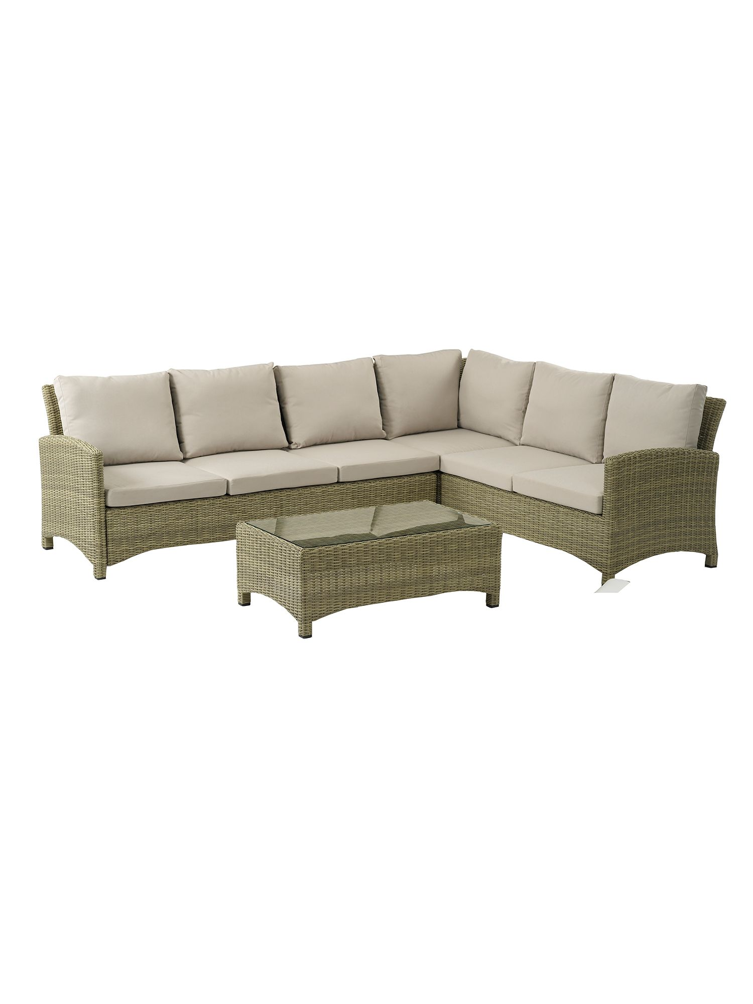 Image of Bramblecrest Cotswold modular sofa with coffee table