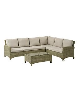 Cotswold modular sofa with coffee table