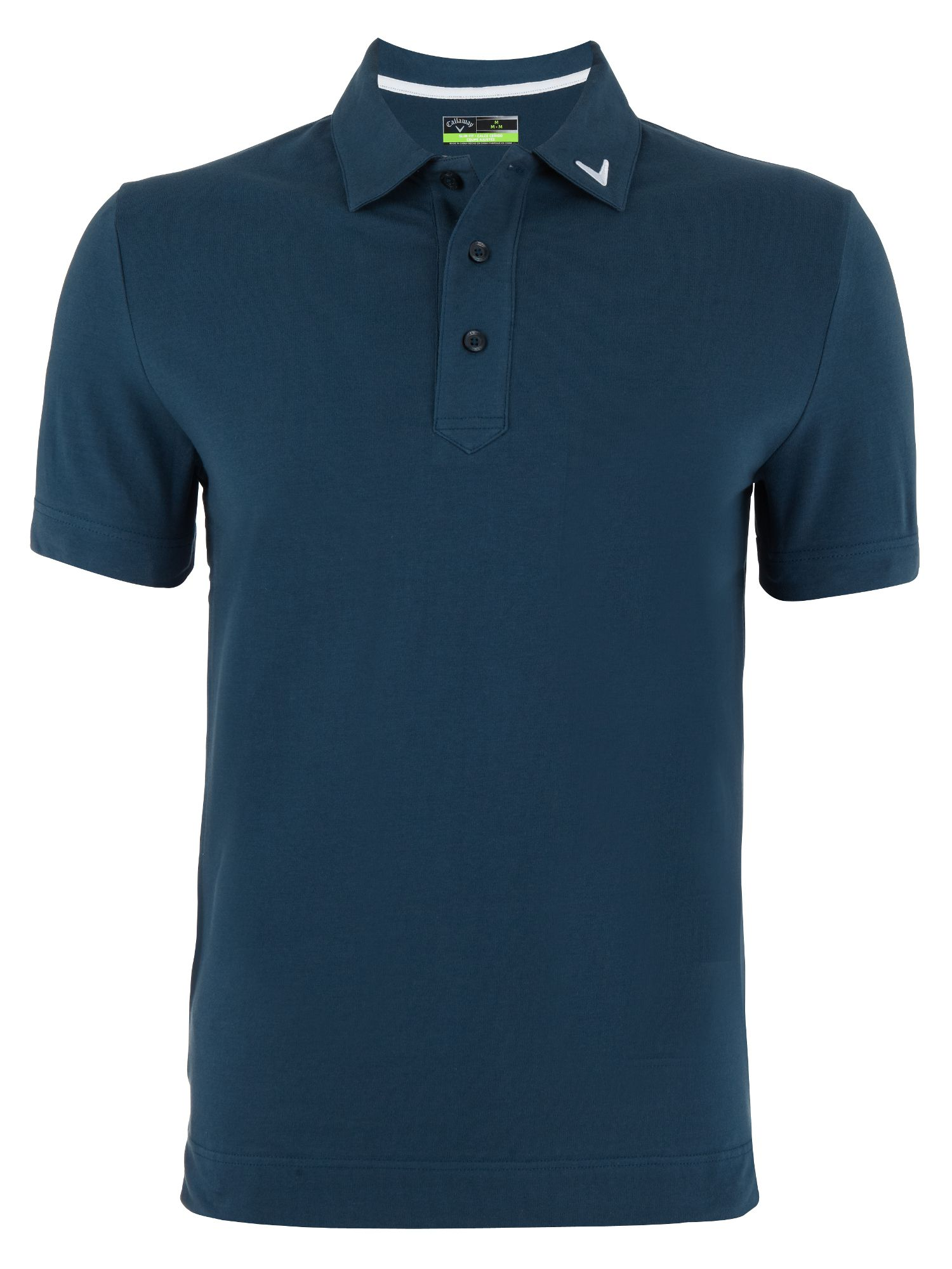 Cotton stretch polo shirt