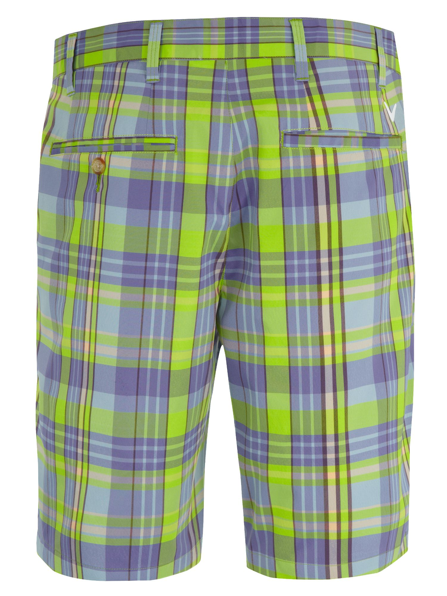 Madrass plaid short