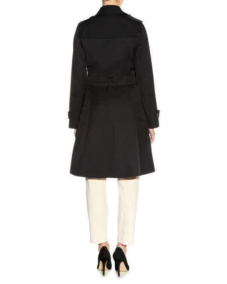 Aquascutum Lana double breasted raincoat