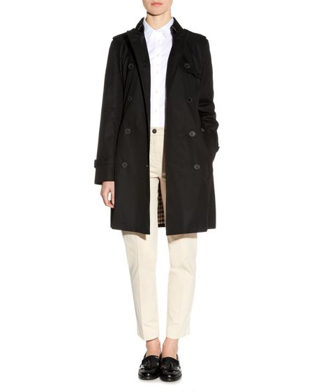 Aquascutum Franca Double Breasted Raincoat
