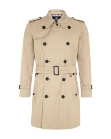 Corby formal double breasted raincoat