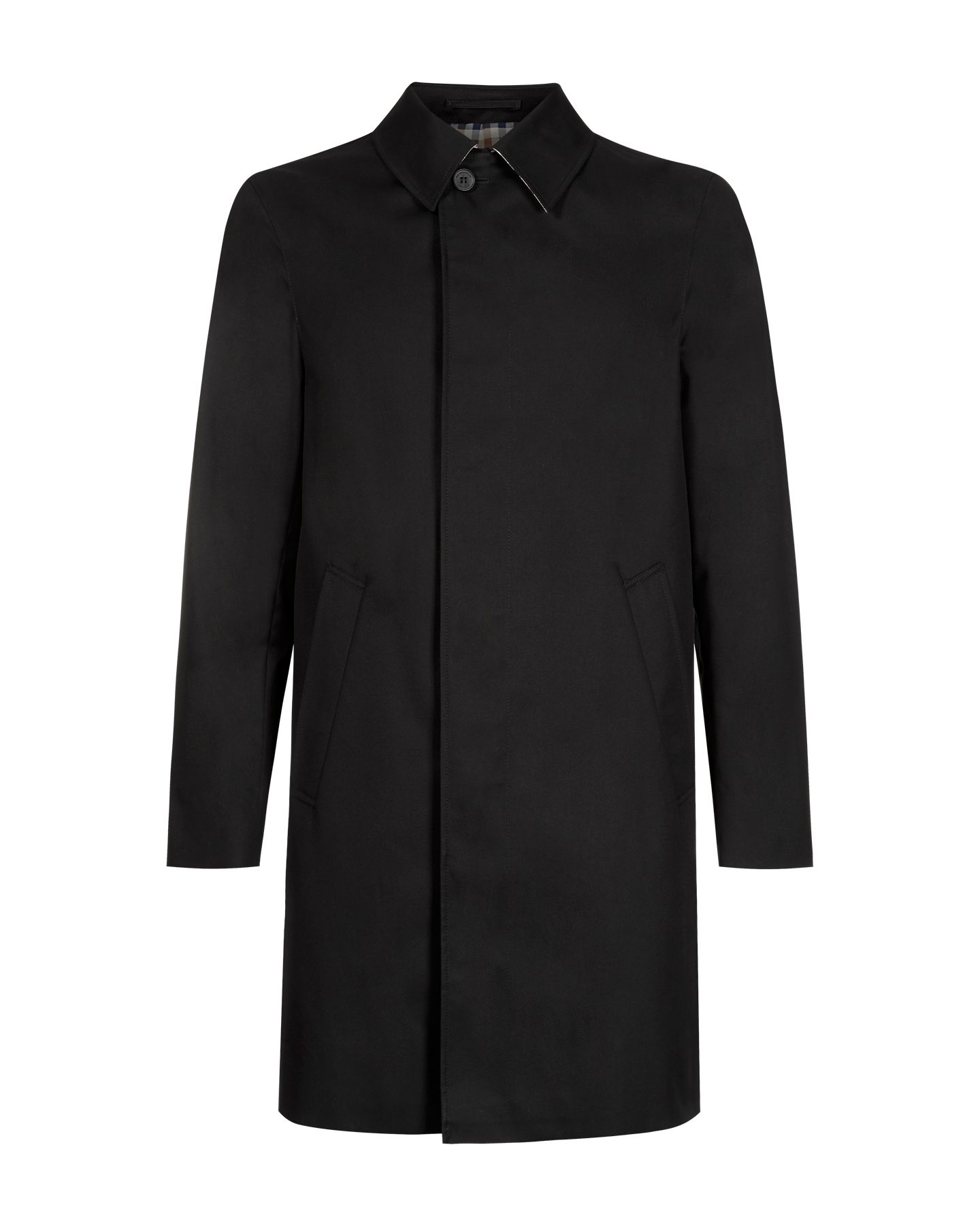 Broadgate single breasted raincoat