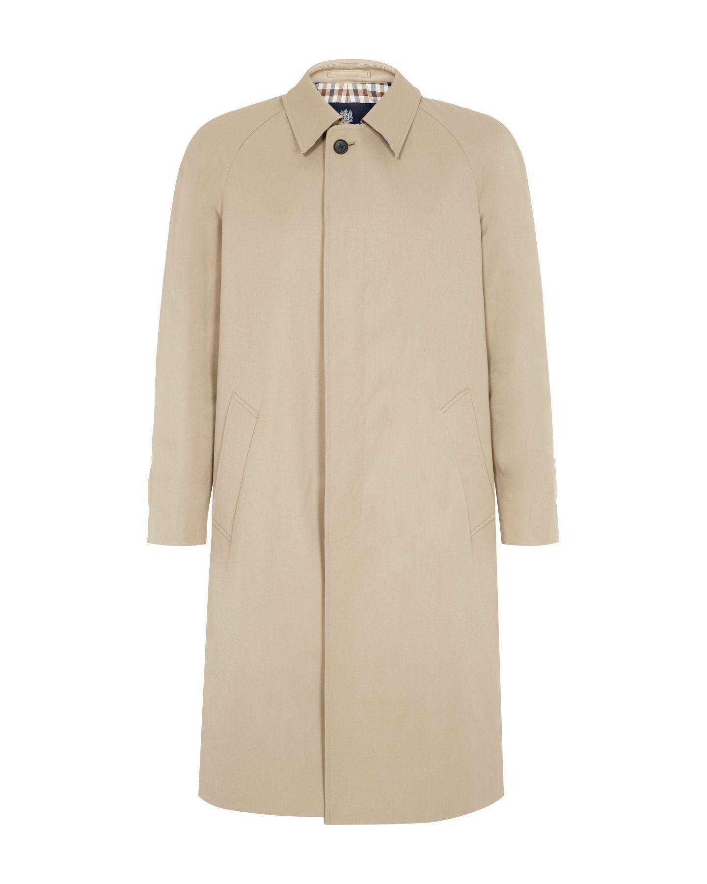Filey formal single breasted raincoat