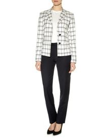 Aquascutum Darcey Checked Jacket