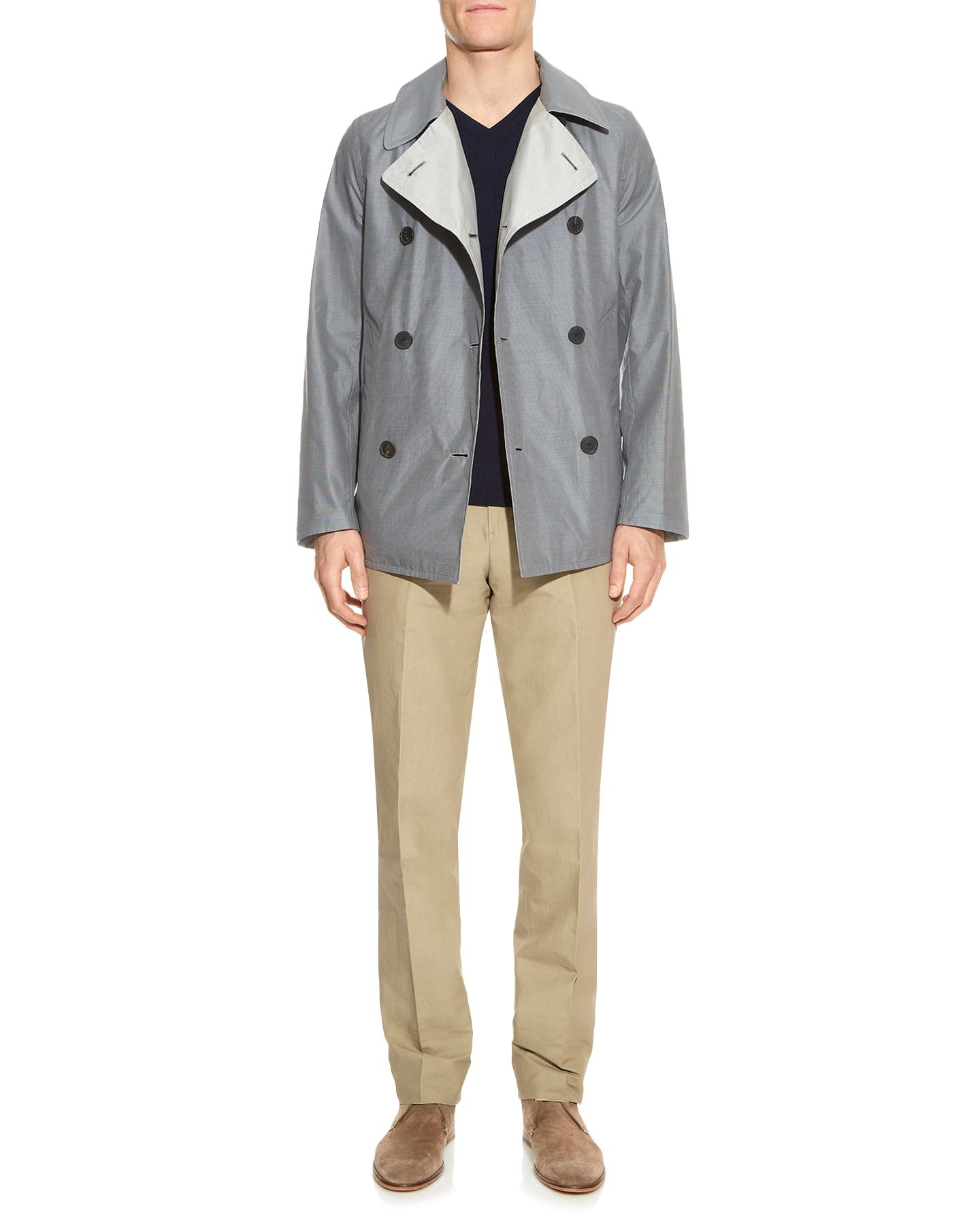 Horowitz formal reversible button jacket