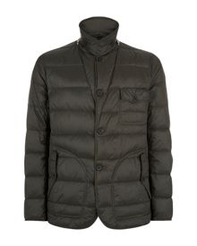 Wadded mountain formal quilted jacket