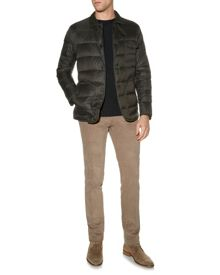 Aquascutum Wadded mountain formal quilted jacket