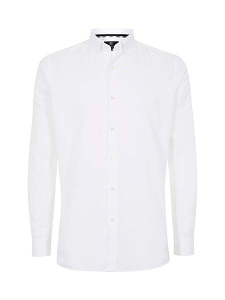 Aquascutum Landor Logo Long Sleeve Shirt - Was £125.00