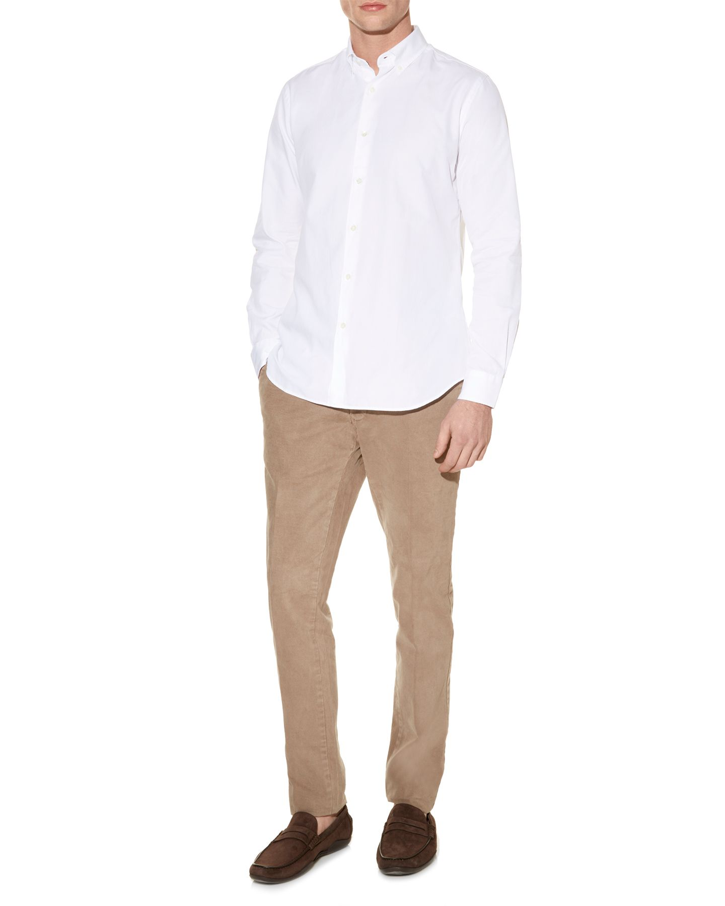 Landor logo long sleeve shirt