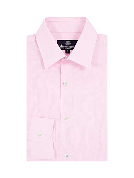Aquascutum Capell Tailored Long Sleeve Shirt - Was £125.00
