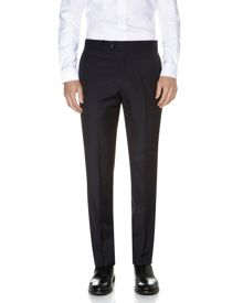 Aquascutum Wool and mohair mix trousers