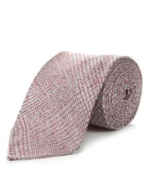 Houndstooth check tie