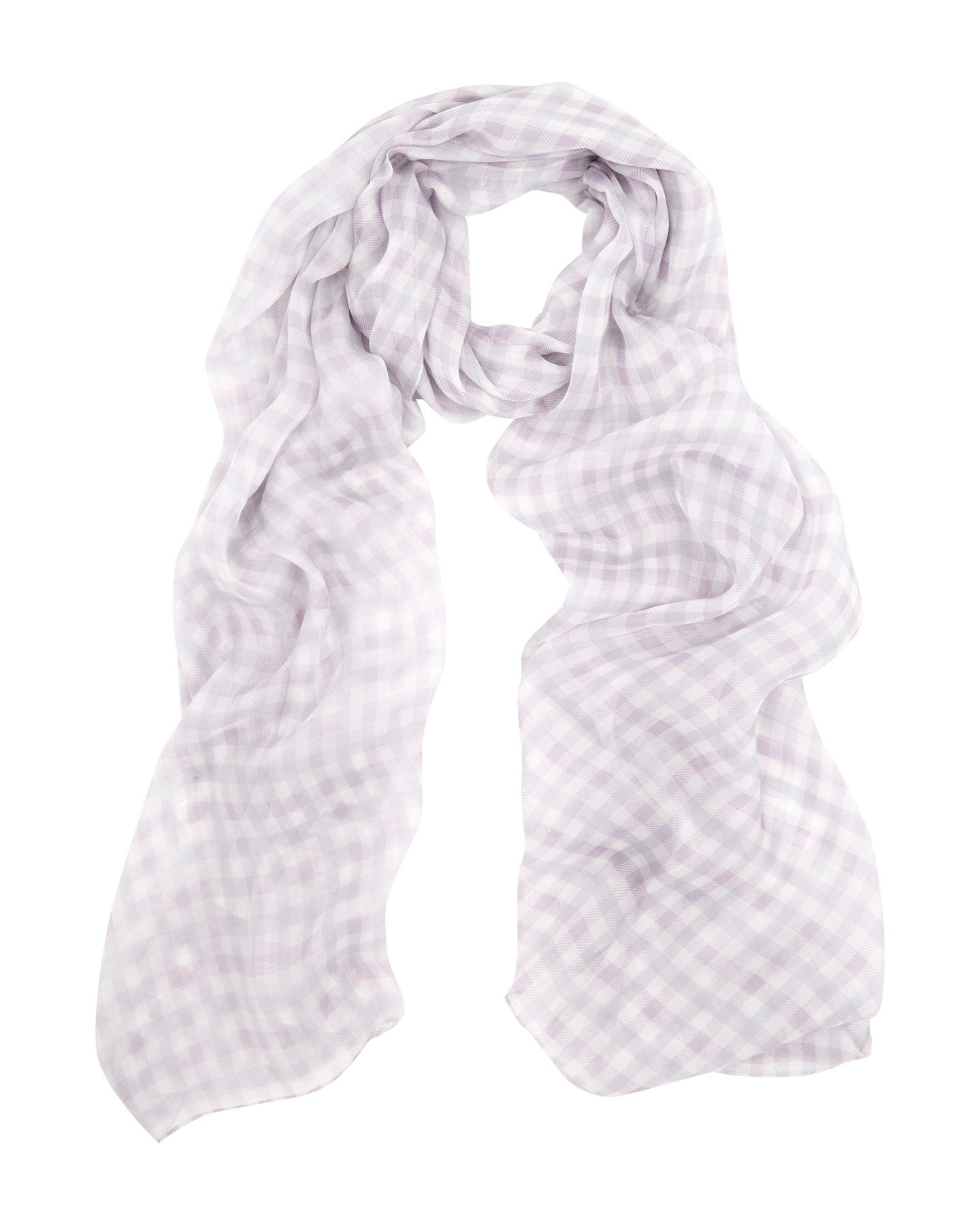 Club Check Silk Scarf