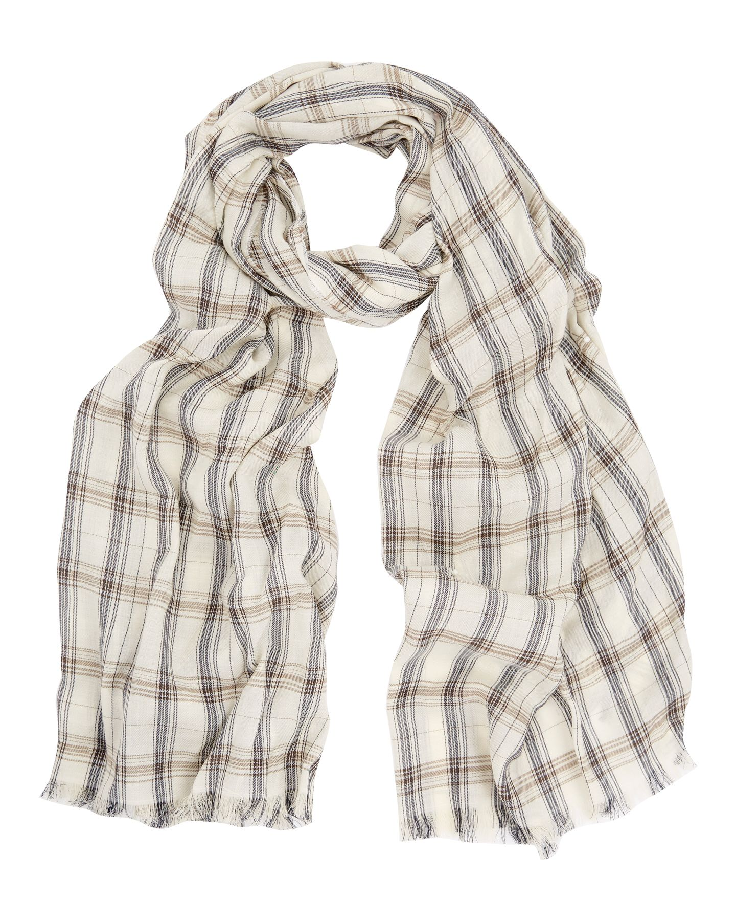 Archive Check Scarf