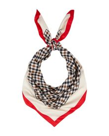 Club Check and Boarder Print Scarf
