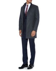 Aquascutum Piccadilly Single Breasted Overcoat