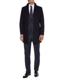 Piccadilly Single Breasted Overcoat