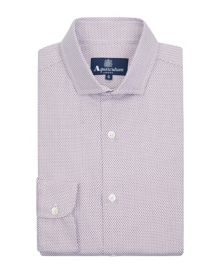 Fife mini check shirt