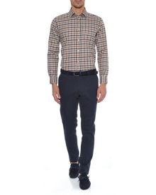 Aquascutum Long Sleeved Club Check Shirt