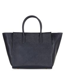 Large Leather Ellen Grab Bag
