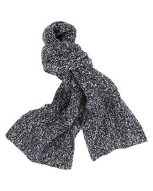 Otter knitted scarf