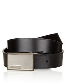 Palmellato leather belt
