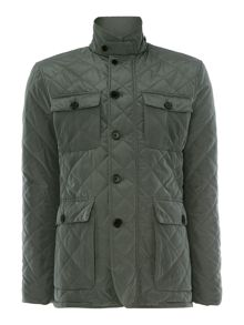 Hutchinson Casual Full Zip Quilted Jacket