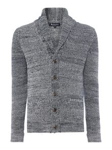 Aquascutum Dunn Shawl Neck Button Cardigan